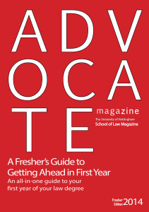 2014 Fresher Edition Cover